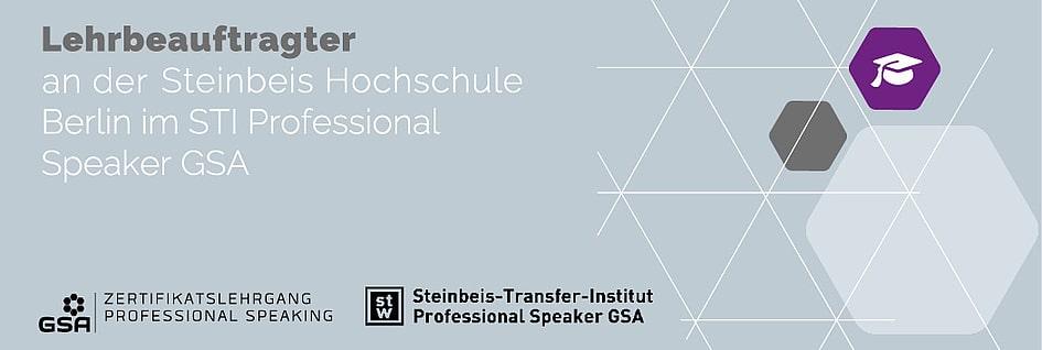 Lehrbeauftragter der German Speakers Association